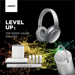 [BOSE] Time to up your music game this Great Singapore Sale!