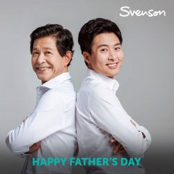 [Svenson] It's only when you grow up and step back from him or leave him from your own home.
