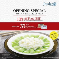 [Isetan] Joyden Canton @ Orchard is NOW Open!