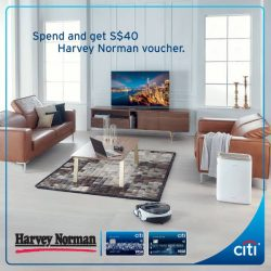 [Citibank ATM] Head down to Harvey Norman, your one stop shop for all your home furnishing, electronic and IT needs!