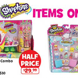 [Babies'R'Us] All Shopkins items are on sale from the 23 (Fri) to 26 (Mon) Jun 17.