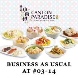 [Compass One] Come savour the authentic flavours of Hong Kong with a range of dim sum, roast specialties, congee and noodle, and