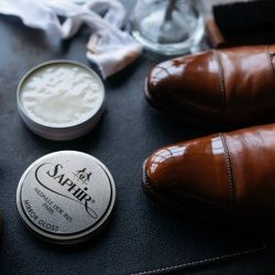 [STRAITS ESTABLISHMENT] For everything leather and shoe care related, please visit our affiliated page Saphir Singapore for news and tips pertaining to
