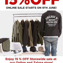 [Praise] 15% OFF online sale starts this 9th June!