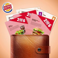 [Burger King Singapore] Don't forget to grab these amazing deals at BK.