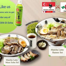 [MENYA MUSASHI] Get a bottle of FREE Oi Ocha!