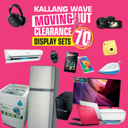 [Harvey Norman] Calling all bargain hunters, we are clearing the display sets of our cooker hoods and hobs at HarveyNormanSG Kallang Wave!