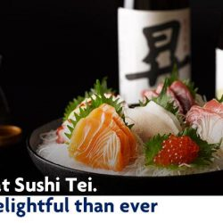 [Sushi Tei] Celebrate International Sushi Month with irresistible good deals!