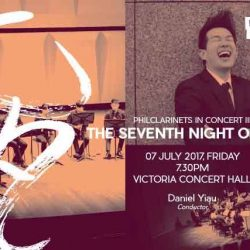 [SISTIC Singapore] Tickets for The Seventh Night of July goes on sale on 21st June.