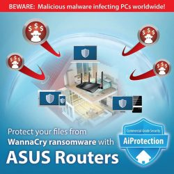 [ASUS] Be safe from network attacks and ran$omeware with ASUS AiProtection.