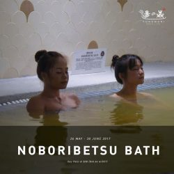 [Yunomori Onsen and Spa] Two more days to the end of the famous Noboribetsu Bath in Hokkaido AND our 1 for 1 Promotion!