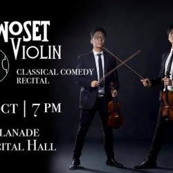 [SISTIC Singapore] Tickets for TwoSet Violin World Tour on 07 Oct 2017 goes on sale on 27 June 2017.