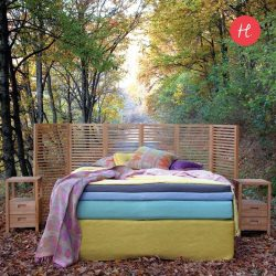 [HomesToLife] Sleep on Nature, Wake Up In a DreamSay goodbye to sleepless nights and hello to refreshed mornings ahead.