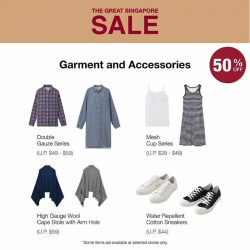 [MUJI Singapore] Make the most of your weekends with good quality buys!