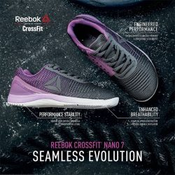 [Reebok Singapore] NEW: CROSSFIT NANO 7 WEAVEEnhanced durability and innovative breathability make the all-new CrossFit Nano the foundation for your