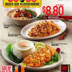 [Xin Wang Hong Kong Cafe] Here's our new Master Wok Recommendation $8.
