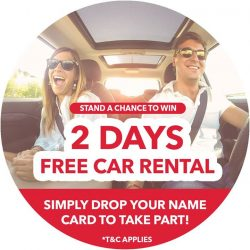 [AVIS] 2-DAY FREE RENTAL | PM us your name card!