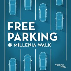 [Millenia Walk] Keep your Fridays free this month, because we certainly are!