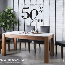 [Cellini] Get you Quartz dining set at a good deal this GSS season with Cellini.