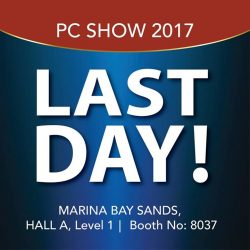 [Home-Fix Singapore] Last chance to enjoy the great offers at PC Show 2017!