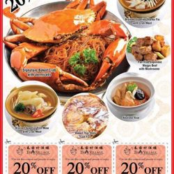 [Thai Village Restaurant] Feast like royalty this weekend with 20% OFF coupons at Thai Village Restaurant!