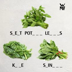 [WMF] Know your veggies?