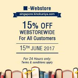 [Books Kinokuniya] Less than 6 hours to go before our offer ends!