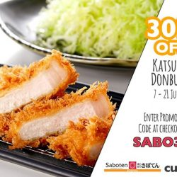 [Saboten] Saboten Express – We are stoked to be a part of CutQ, as featured by Channel News Asia, an app which