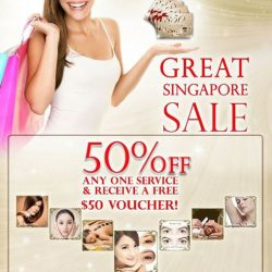 [AVONE BEAUTY SECRETS] The Official Great Singapore Sale Thinking of having a change of hairstyle or go for a rejuvenating facial or getting