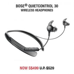 [iStudio] Celebrate the Great Singapore Sale with great discounts on Bose at all iStudio stores and eStore.
