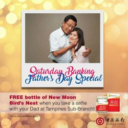 [BANK OF CHINA] Celebrating Father's Day this weekend?