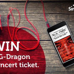 [Singtel] Win a G-DRAGON 2017 WORLD TOUR <ACTIII, M.