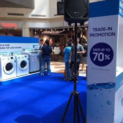[Harvey Norman] Samsung Trade-in Washer Promotions at HarveyNormanSG WestMall Atrium Roadshow.