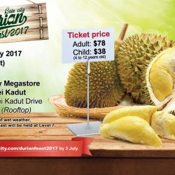 [Gain City] Gain City is proud to present the much anticipated Gain City Durian Feast 2017!