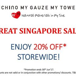 [Uchino] Don't miss out our GSS promotion ending 30 Jun'17!
