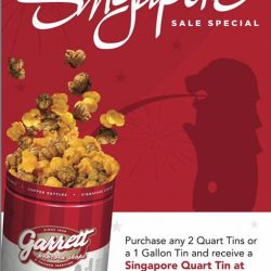 [Garrett Popcorn Shops] Great Singapore SALE!