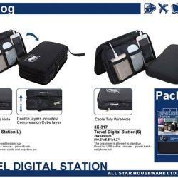 [JAPAN HOME Singapore] Universal Travel Organizer - Ideal for Travel/Leisure ActivityNow offer at $9.