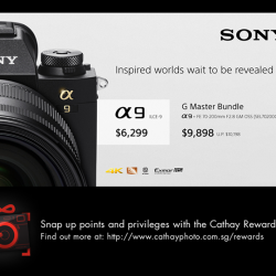 [Cathay Photo] The Sony A9 is packed with tons of impressive features, including continuous shooting of 20fps with AF/AE tracking, blackout-
