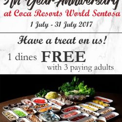 [Coca] Celebrate our 5th year Anniversary at Resorts World Sentosa!