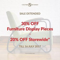 [SCENE SHANG] Prices are reduced on our web store till 16 July; shop away from the comfort of your home or head