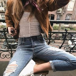 [Superdry] Amsterdam style done right with @SophieMay MySuperdryGet her look in-stores now and browse our 40% OFF* sale and