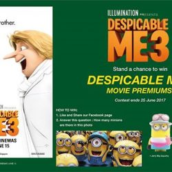 [Filmgarde Cineplex] Stand a chance to win DESPICABLE ME 3 movie premiums!