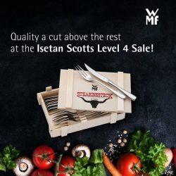 [WMF] Be it the rare or the well-done, find the quality steak knives you seek at our Isetan Scotts Level