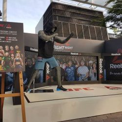 [Reebok Singapore] Come say hi at our Reebok Octagon in UFC Fan Village.