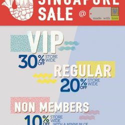 [Made With Love] Great Singapore Sale is here!