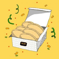 [Tip Top] Make the Raya celebrations even better with our 6 for $8 curry puff promo!