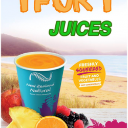 [New Zealand Natural Café] Our 1 for 1 freshly squeezed juice offer will be ending this weekend!