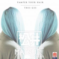 [Matsui Hair Studio] Pamper Your Hair This GSS 🇸🇬 -Up to 20% OFF + [Free Haircut] for,▪️ [Creative Colors 🎨] - from* $206▪️ [Perms] or [Rebond 💇🏻] - from $