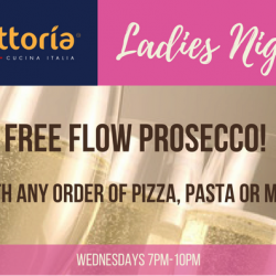 [Trattoria Singapore] Ladies, come drink bubbles for free every Wednesday night!