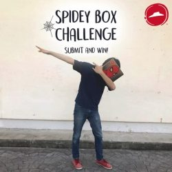 [Pizza Hut Singapore] WIN over $100 worth of prizes and exclusive Spider-man: Homecoming movie premiums when you take a photo with our